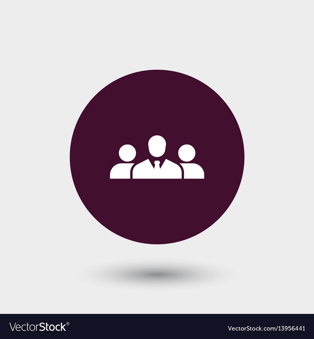 Teamwork icon simple