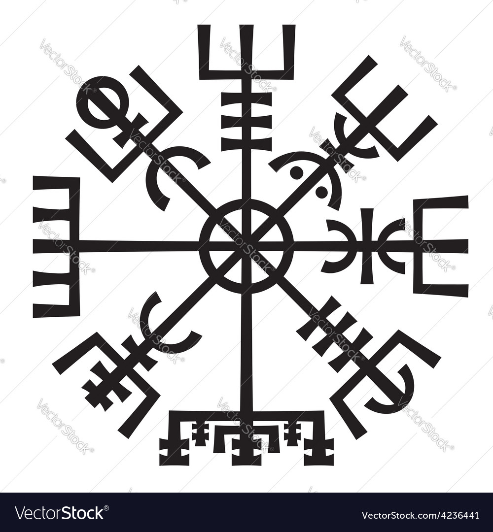 Vegvisir The Magic Compass of Vikings Runic