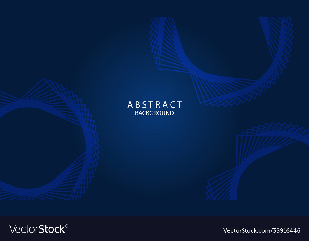 Dark blue abstract background with lettering