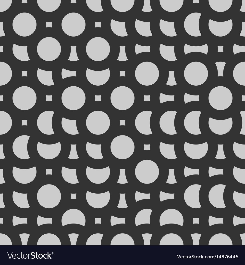 Mosaic grayscale circles