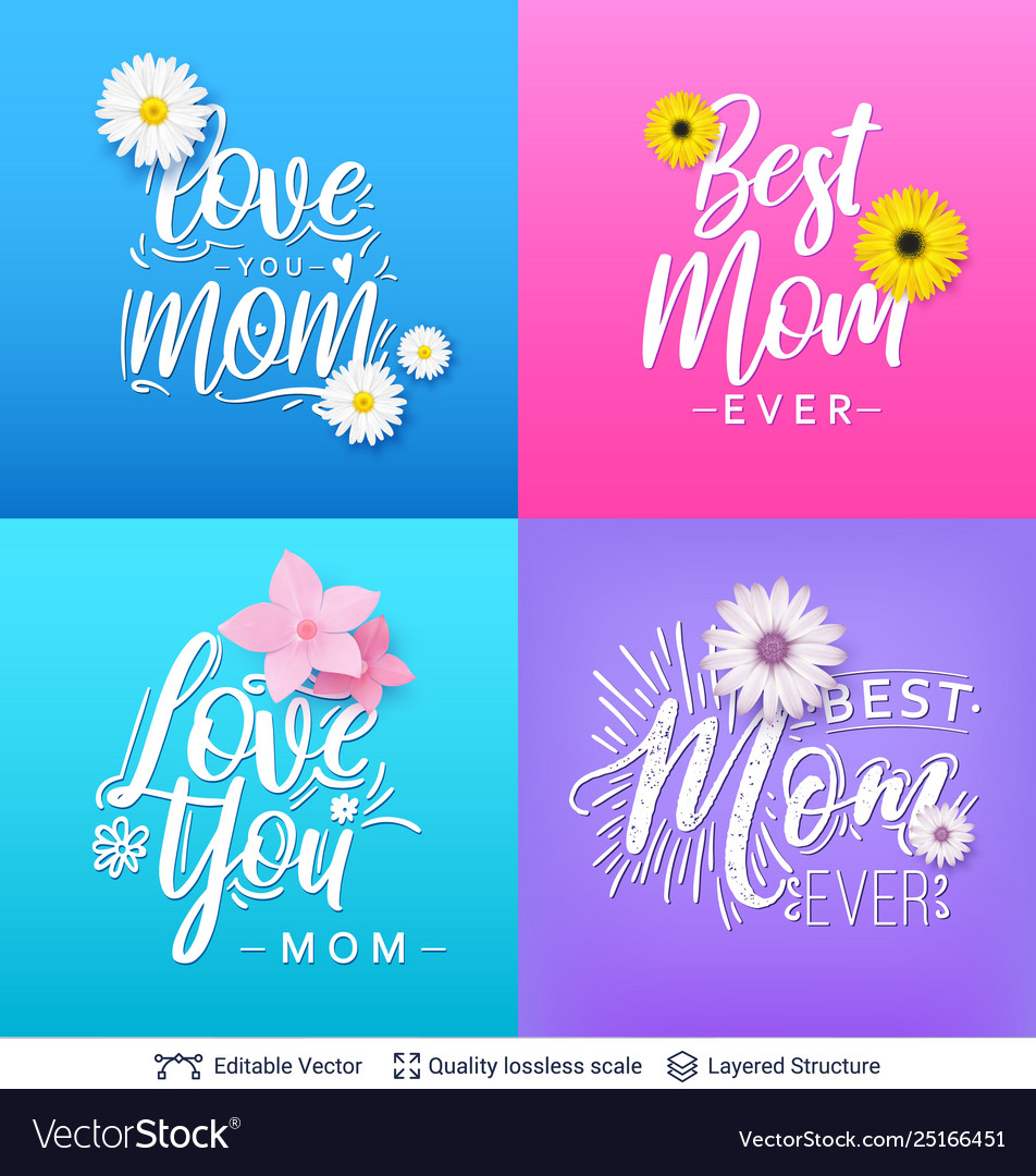 Tremendous Greeting Cards For Mother Day Template Royalty Free Vector Funny Birthday Cards Online Fluifree Goldxyz