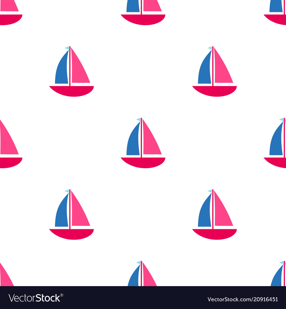 Pattern with ships