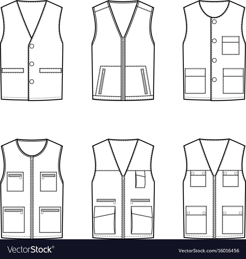 Work vest set