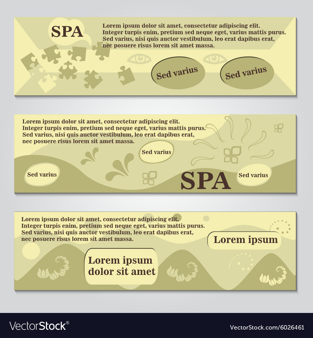 spa flyer template royalty free vector image vectorstock