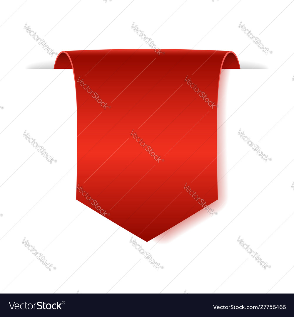 Blank paper banner