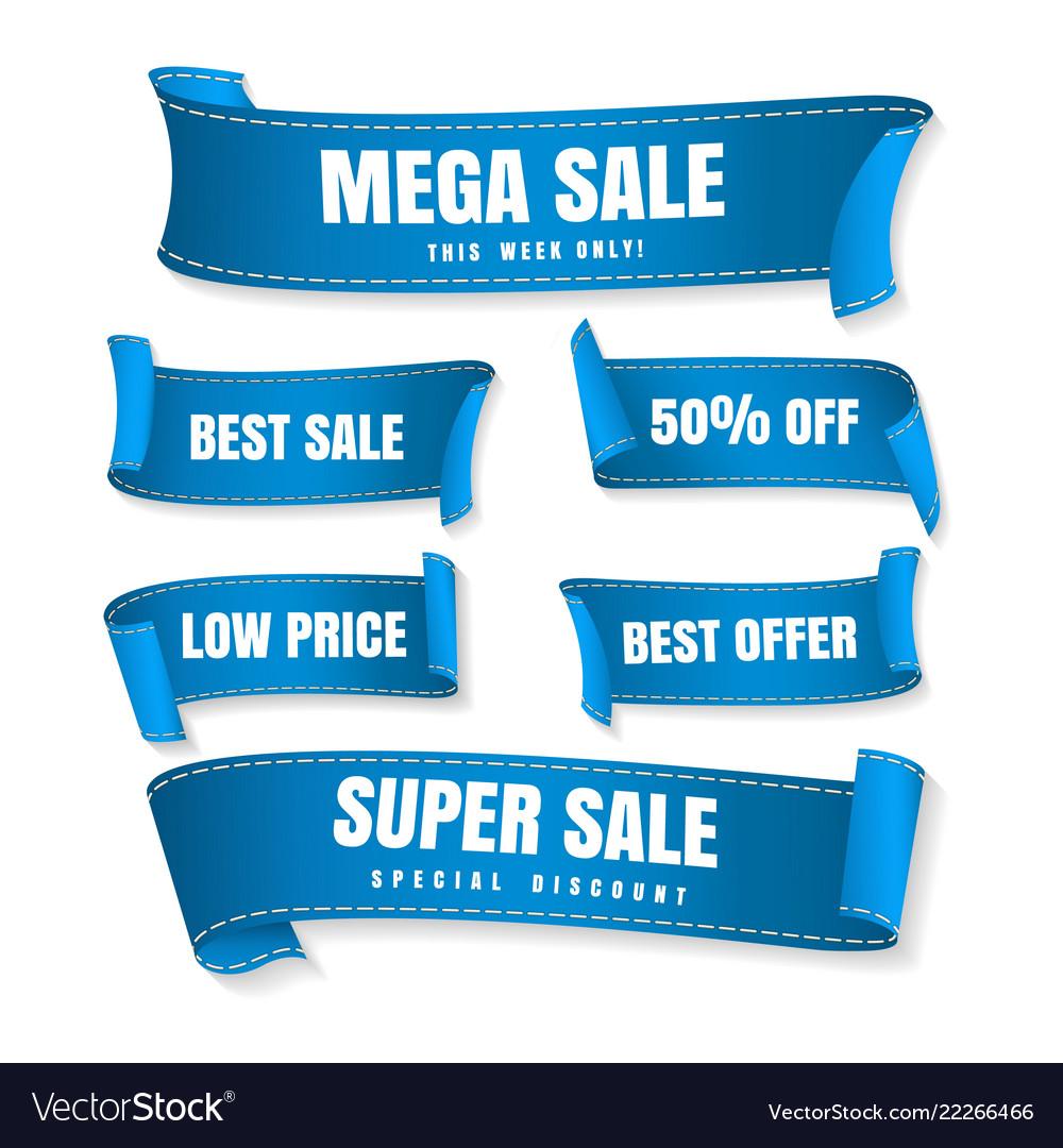 Blue sale ribbons