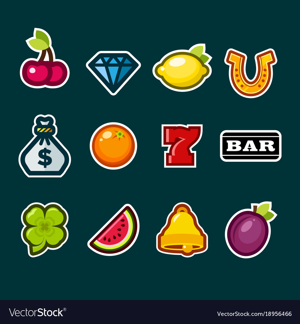 Casino slot machine icons