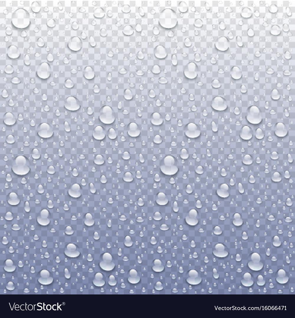 Photo realistic image of raindrops or vapor