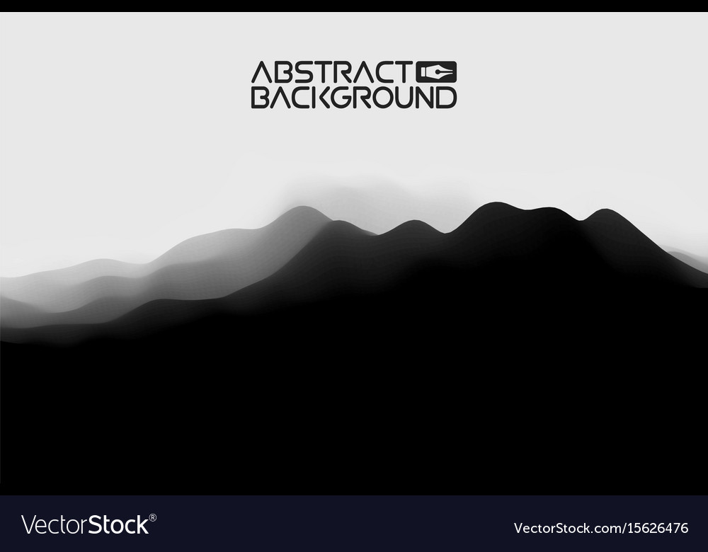 3d landscape abstract grey background gradient