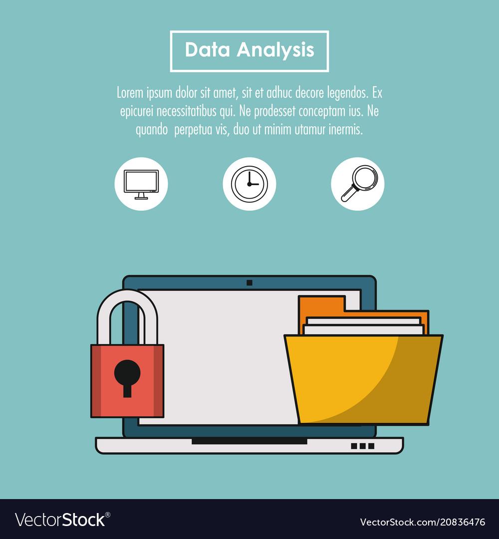 Data analysis infographic