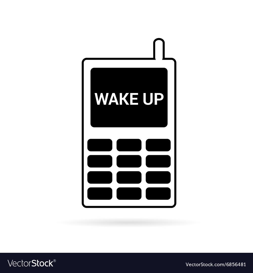 Mobile phone in black