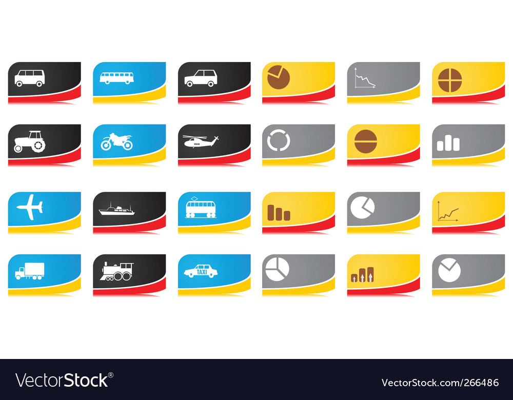 Car business vector image