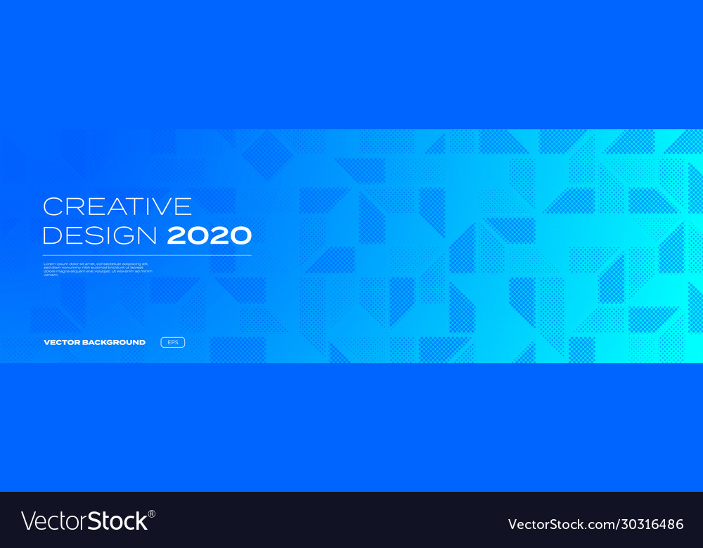 Color gradient and halftone background abstract