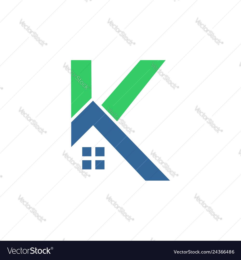 K home logo