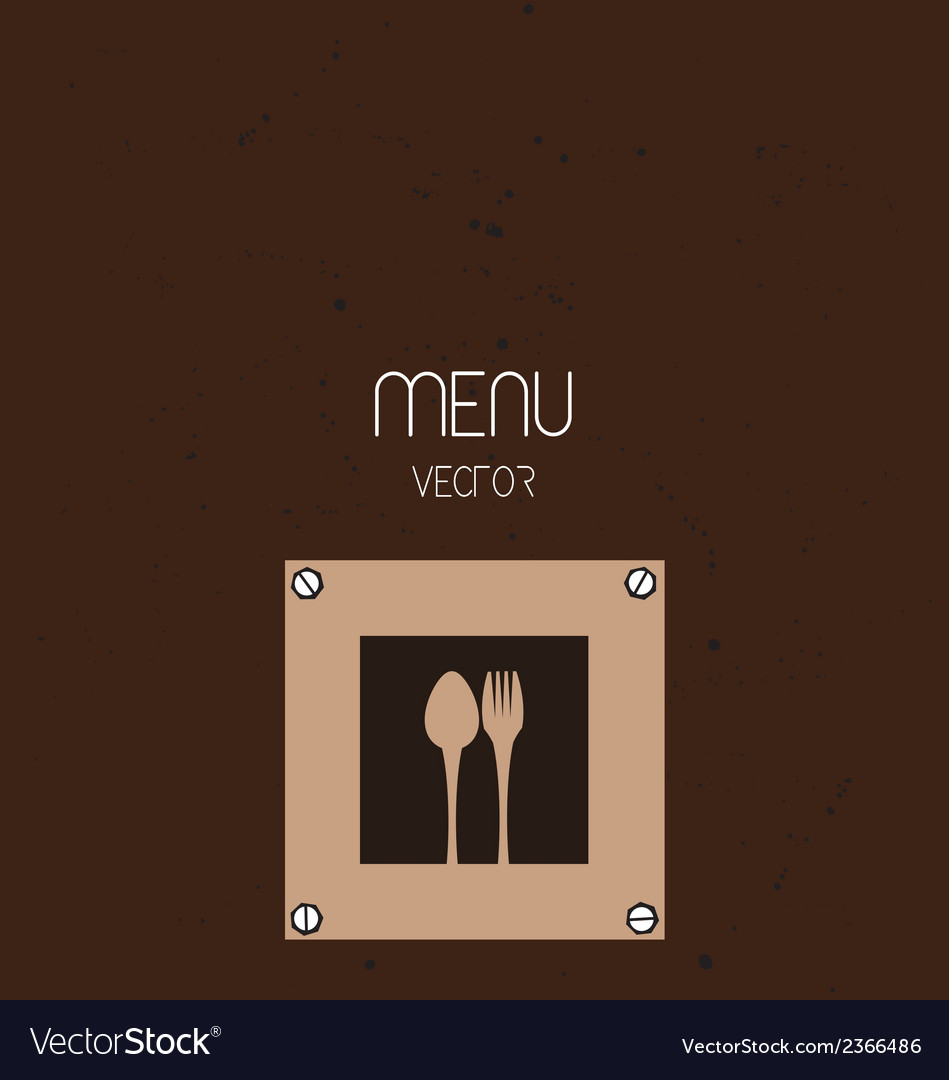 restaurant menu background royalty free vector image