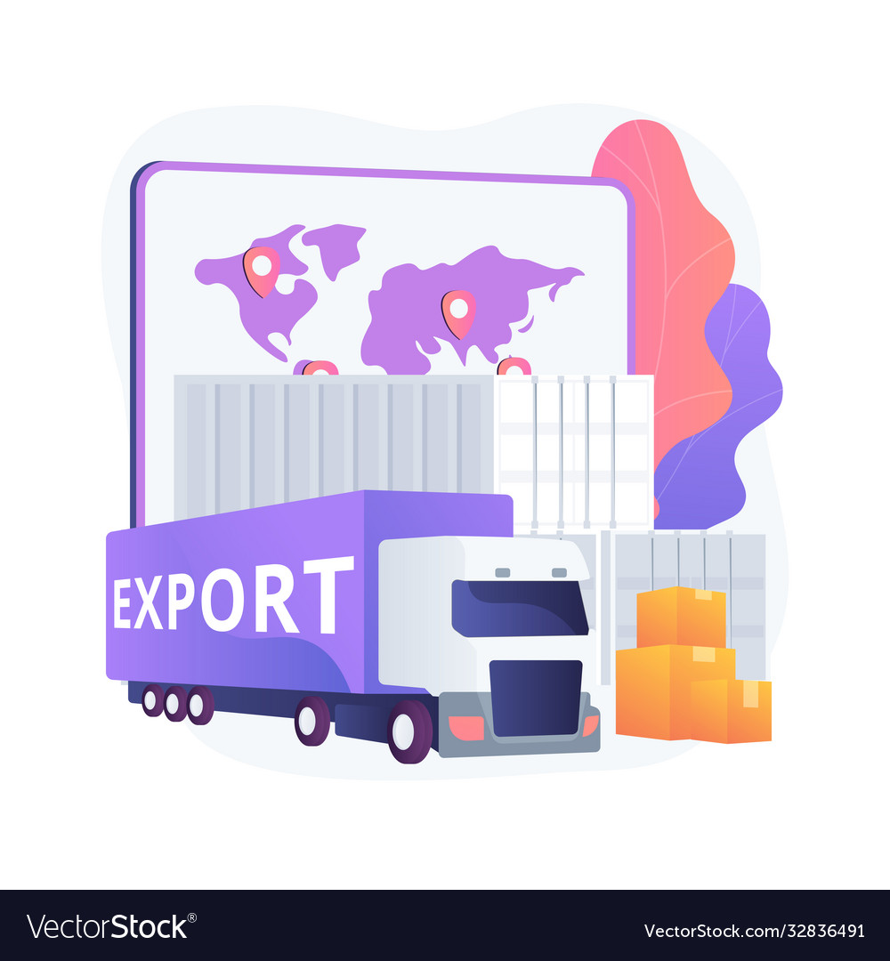 Export control abstract concept