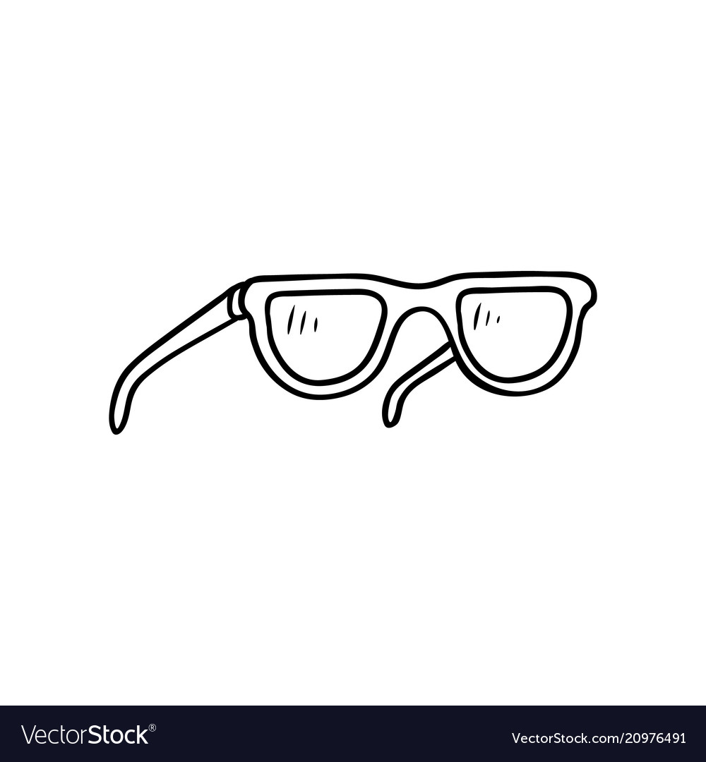 Flat beach vintage fashionable sunglasses