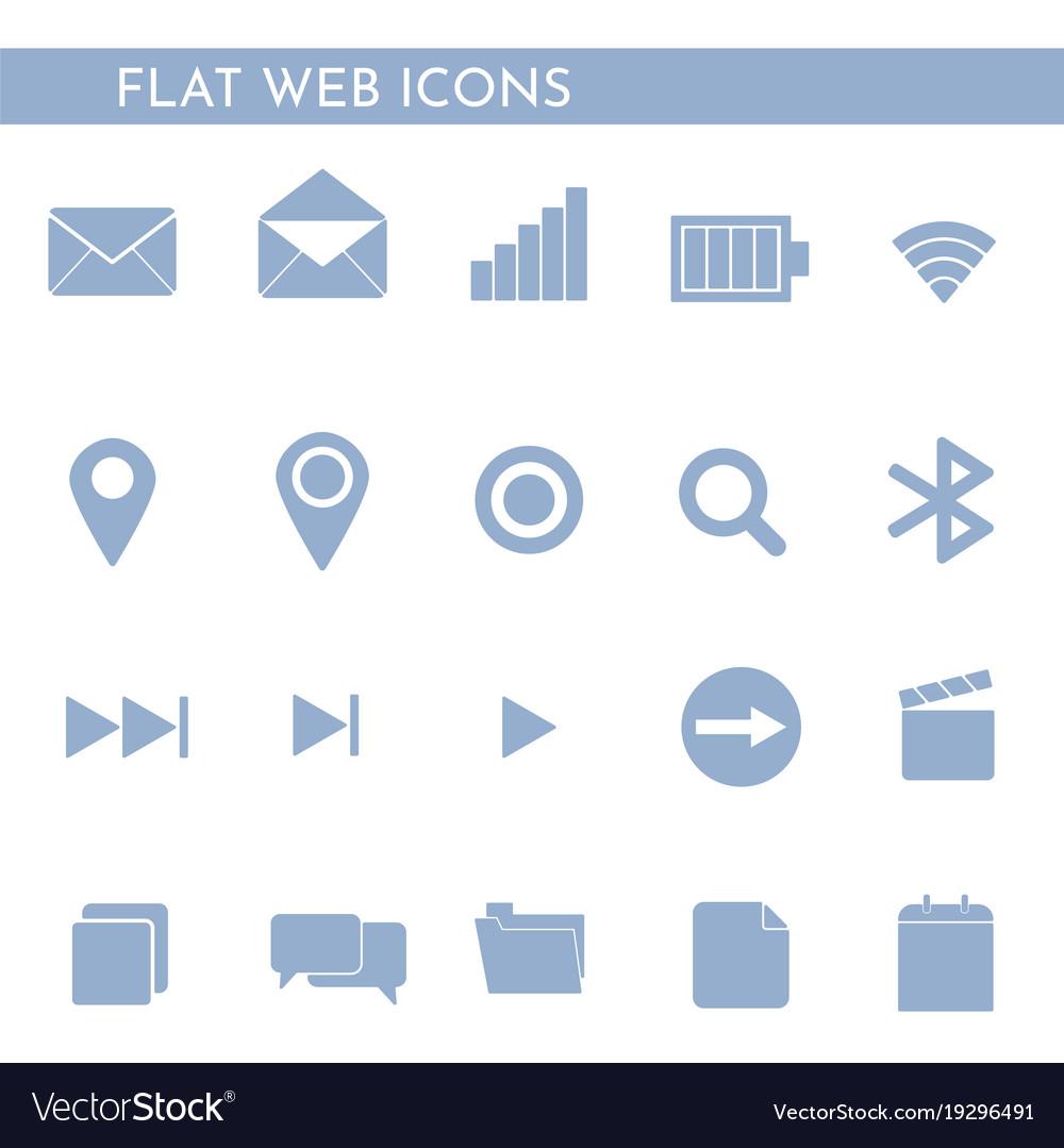 Flat web icons 1244244