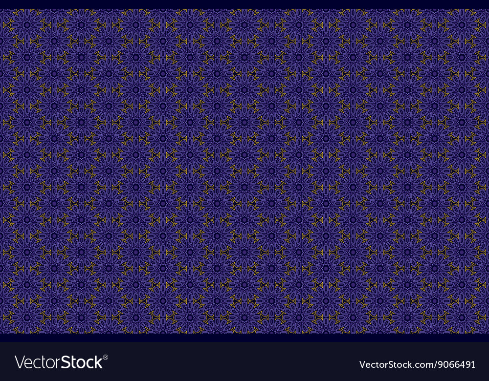 Seamless pattern in luxury style Gold and blue