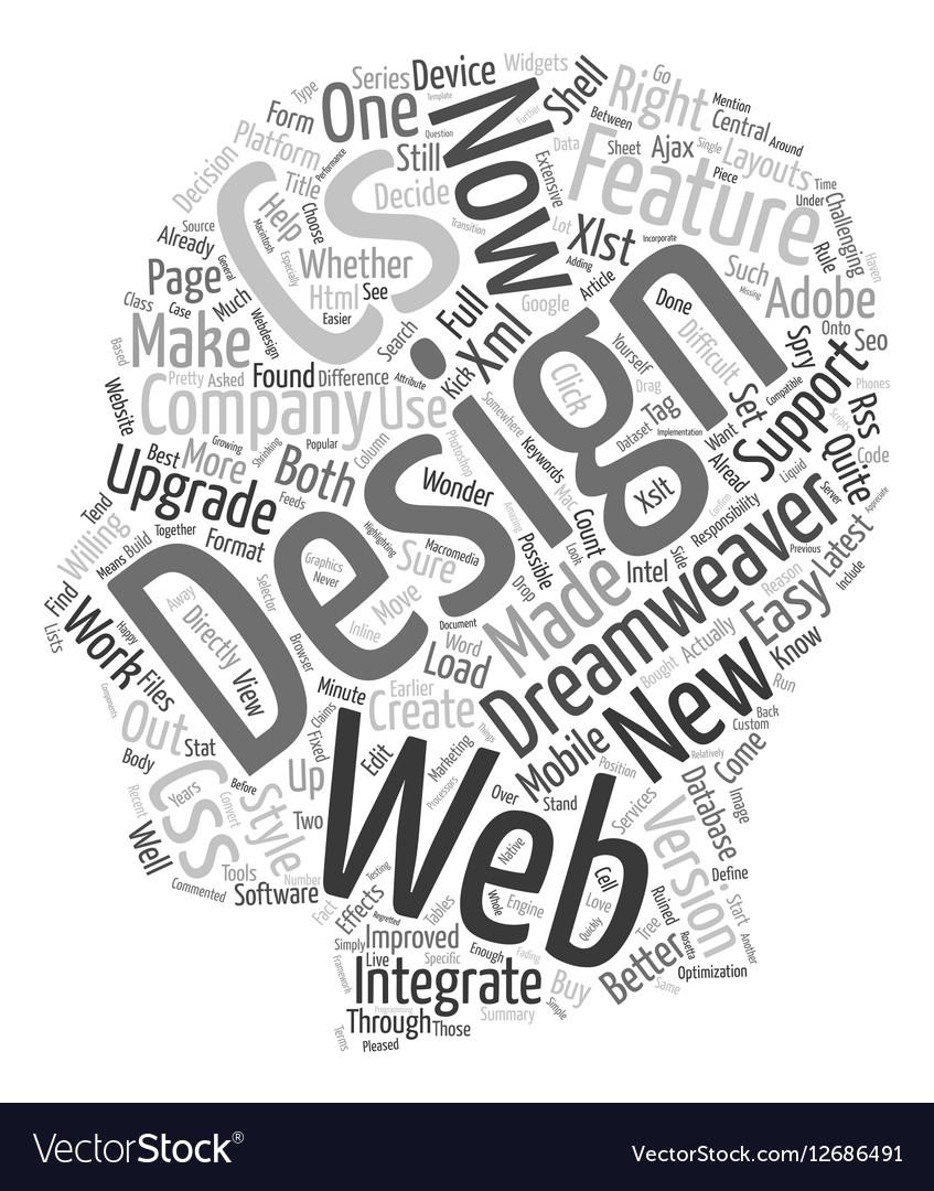 Web Design Series Dreamweaver 8 And Cs3 What S The