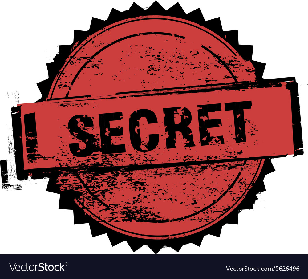 Secret stamp badges