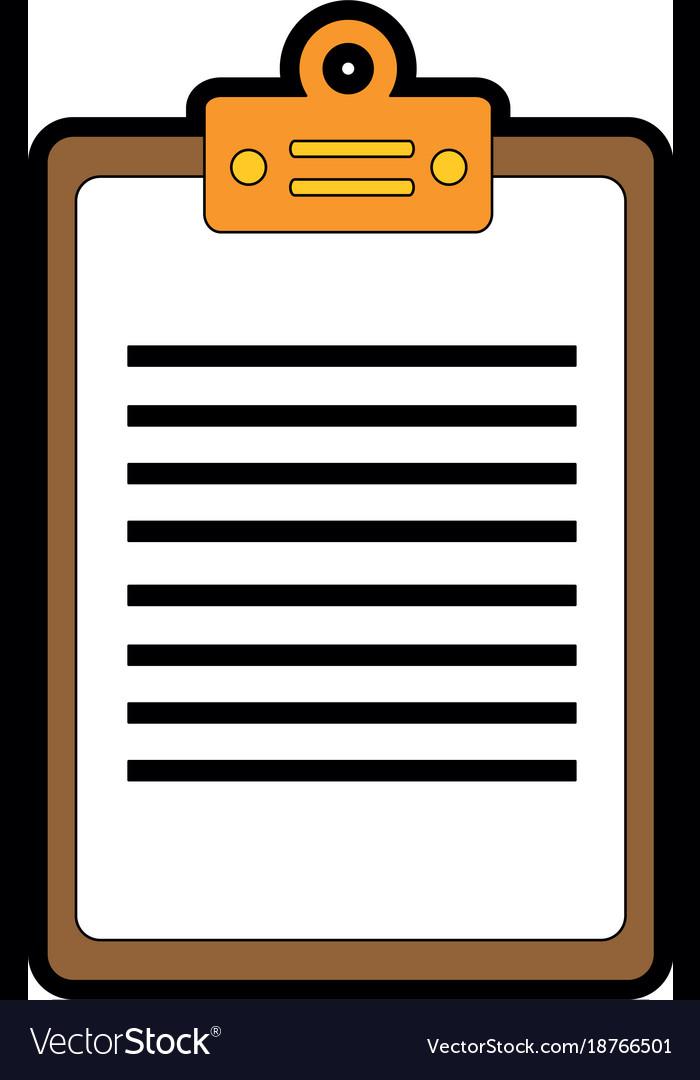 cheklist clipboard isolated icon royalty free vector image rh vectorstock com clipboard vector png clipboard vector icon