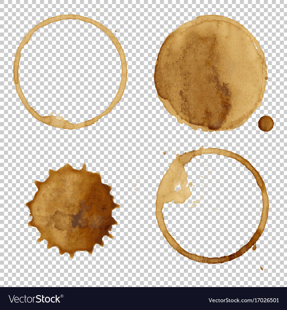 Coffee stains collection