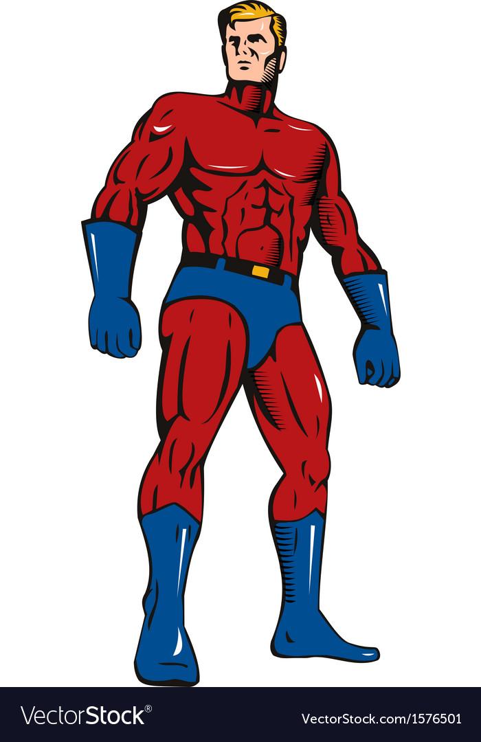 Super Hero Retro