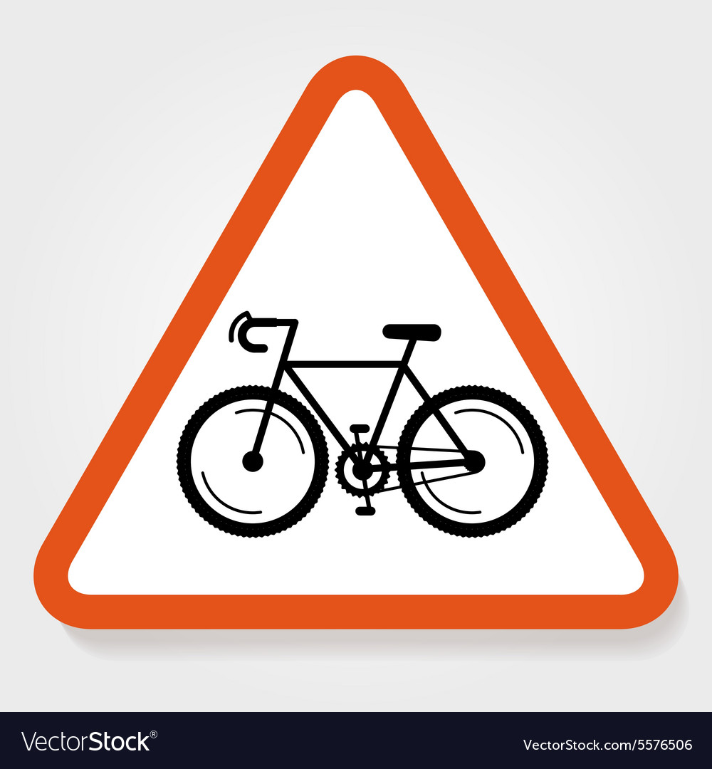 Bicycle Sign Plate