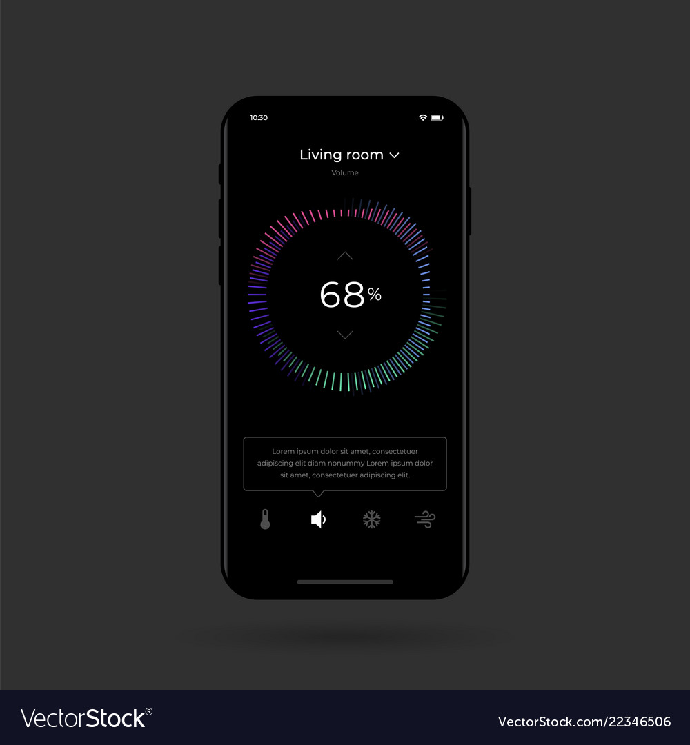 Dashboard ui and ux kit control center design