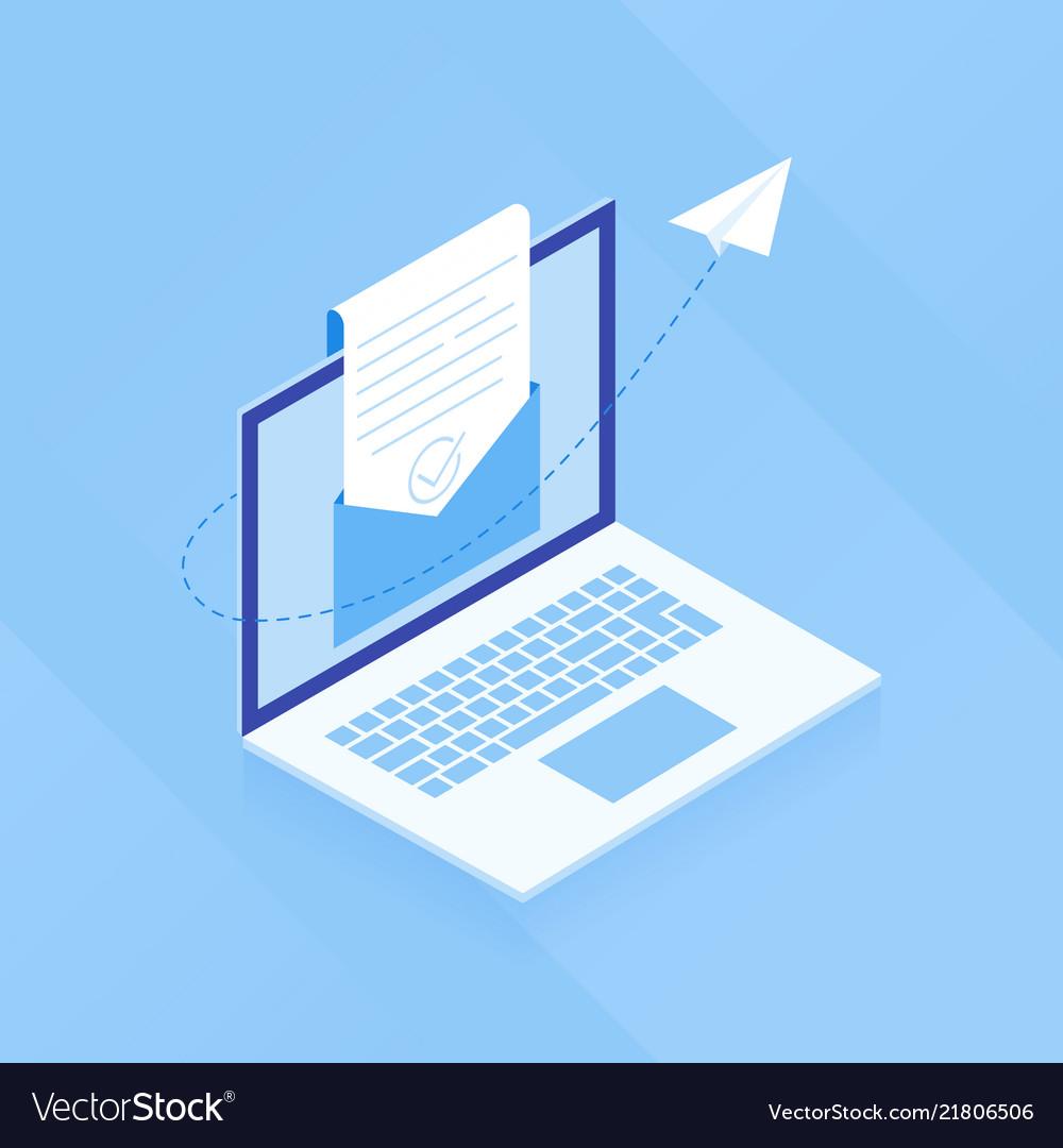 E-mail marketing open e-mail
