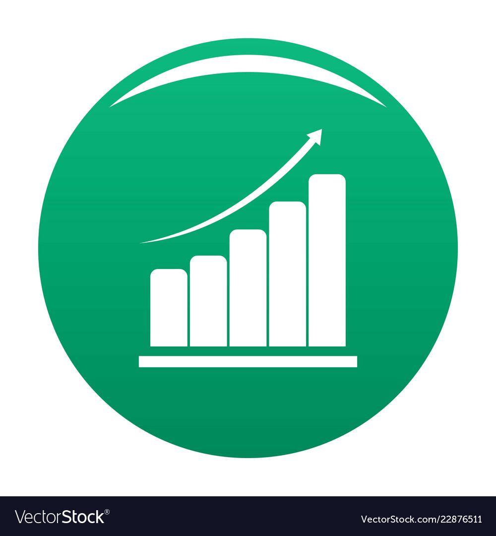 Diagram icon green
