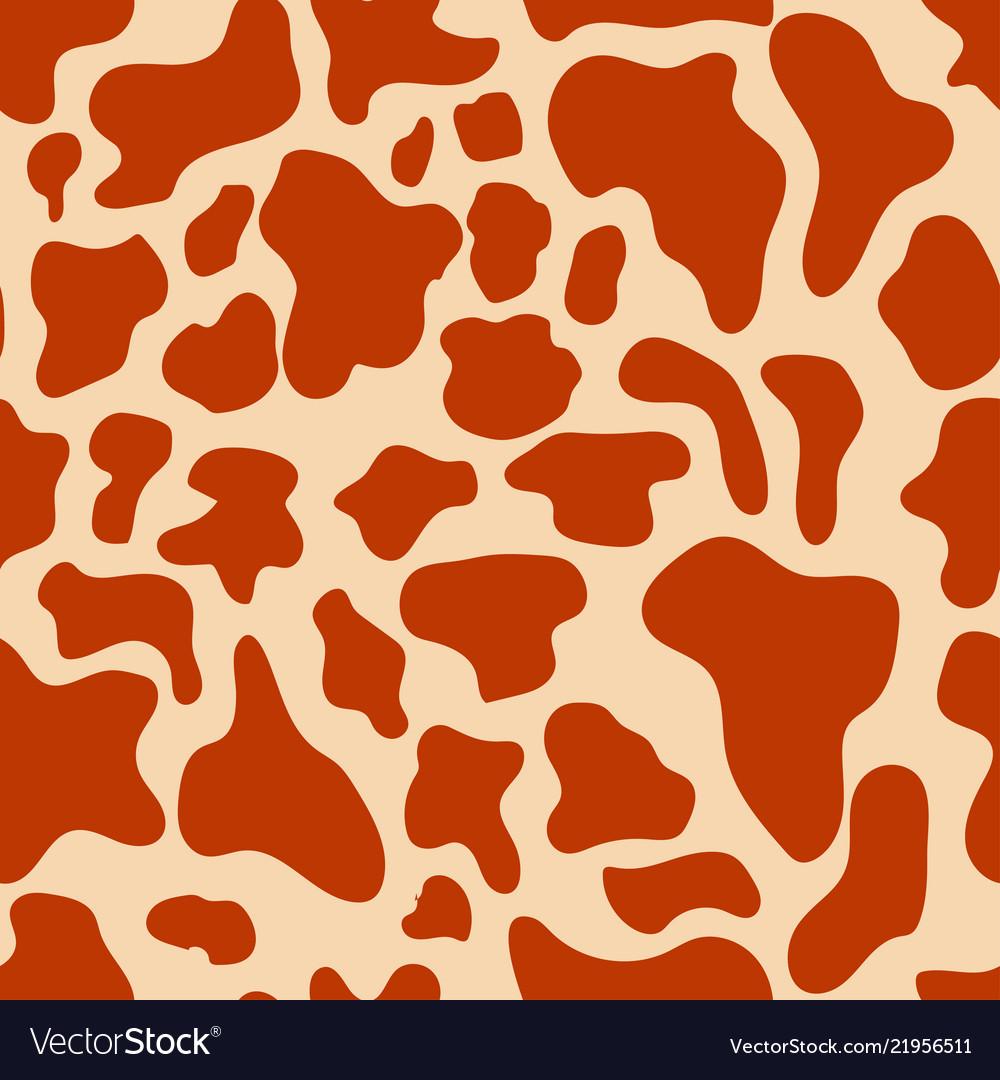 Seamless texture cow spots trendy