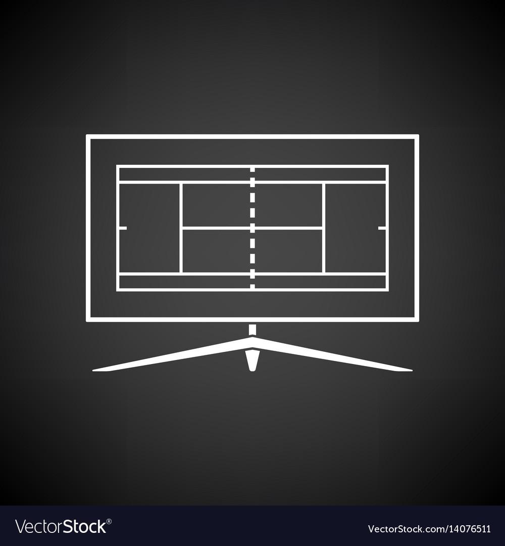 Tennis tv translation icon