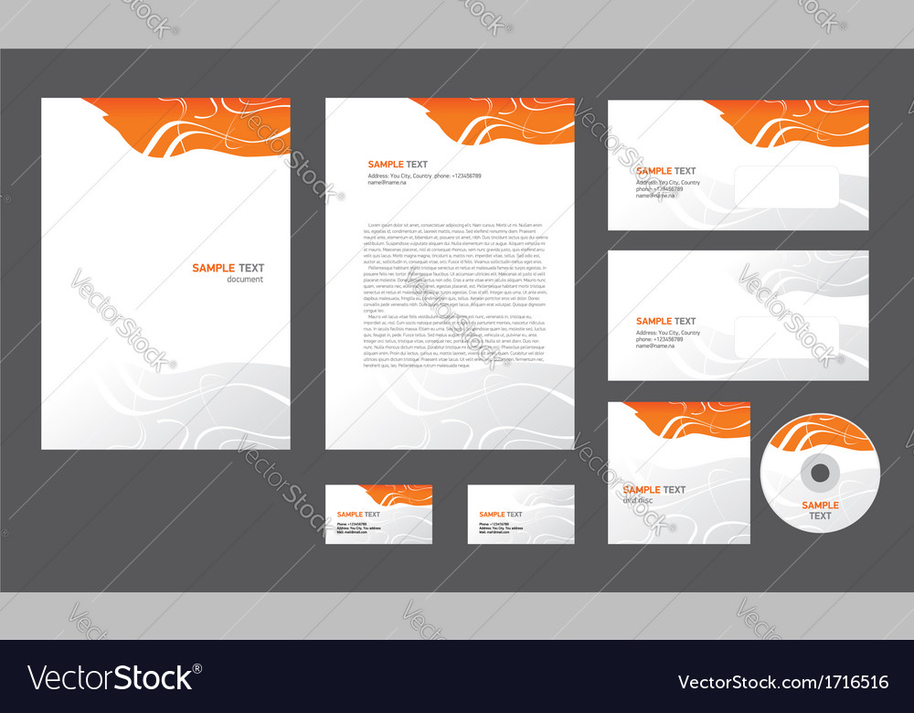 Abstract creative line wave colorful template