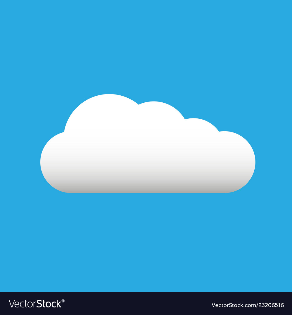 Blue Sky with Clouds Clip Art