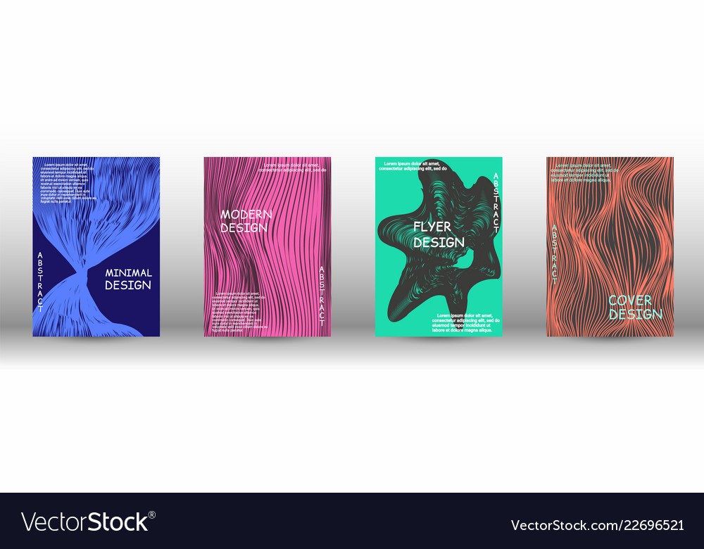 A set of modern covers