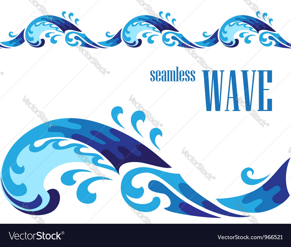 Decorative wave