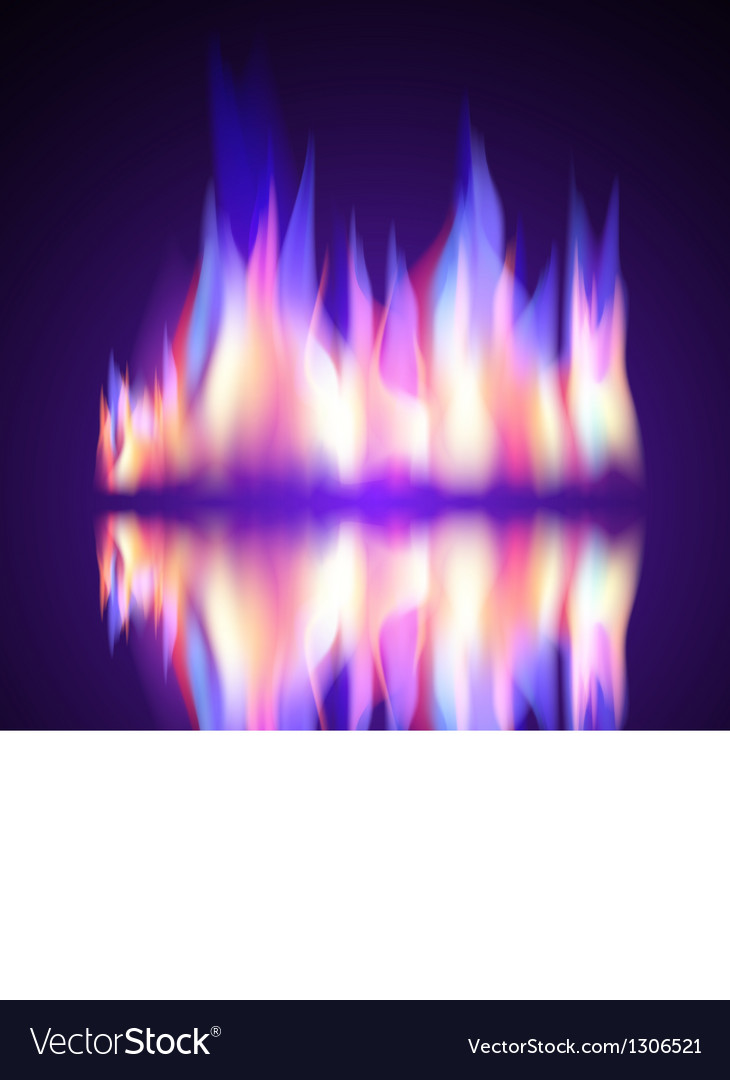 Gas Fire flame burn background