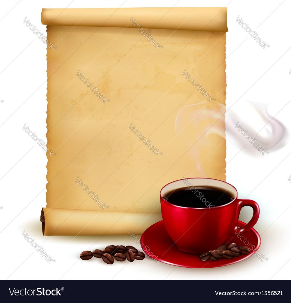 Menu for restaurant coffee design template