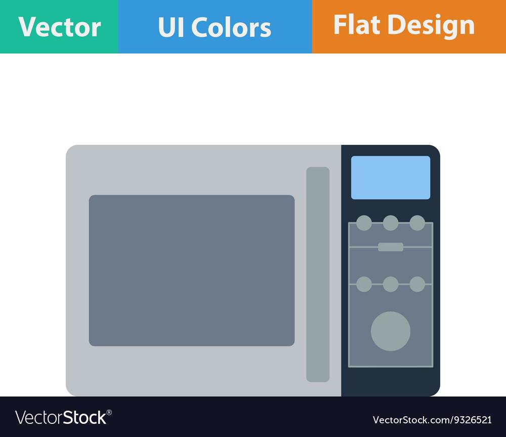 Micro wave oven icon