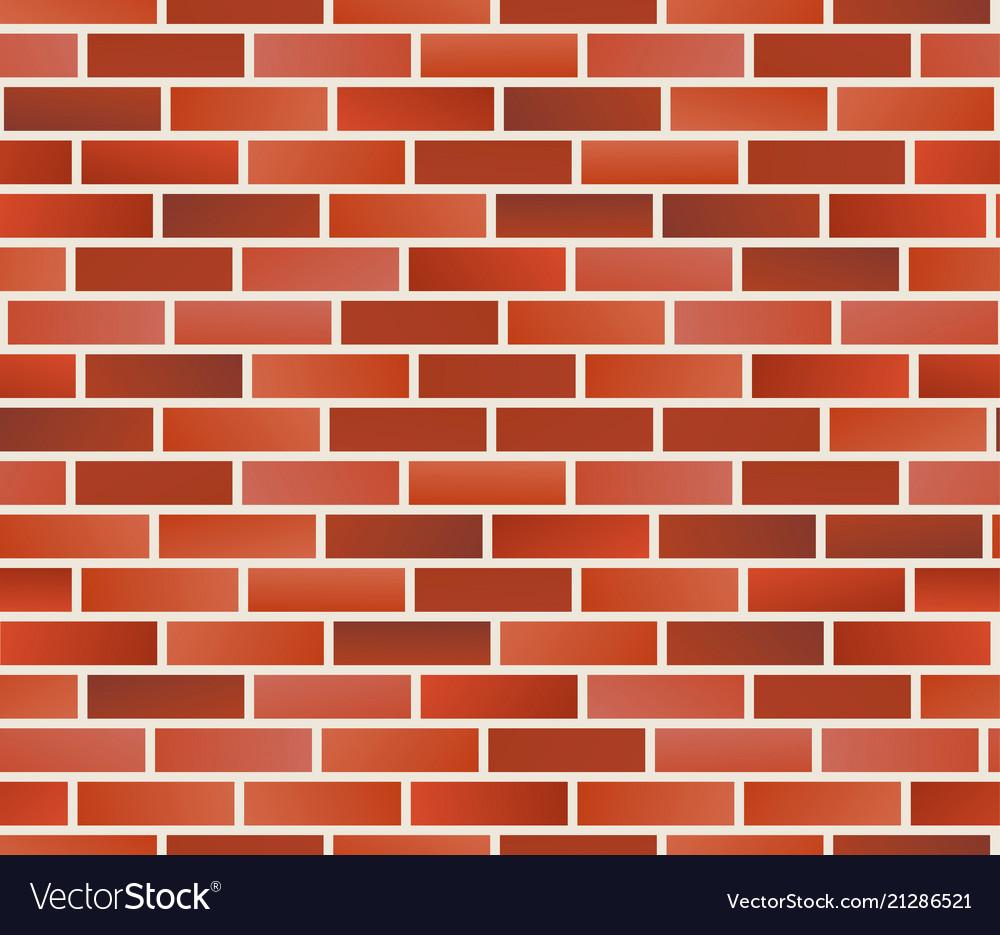 Red brick wall seamless brick wall pattern