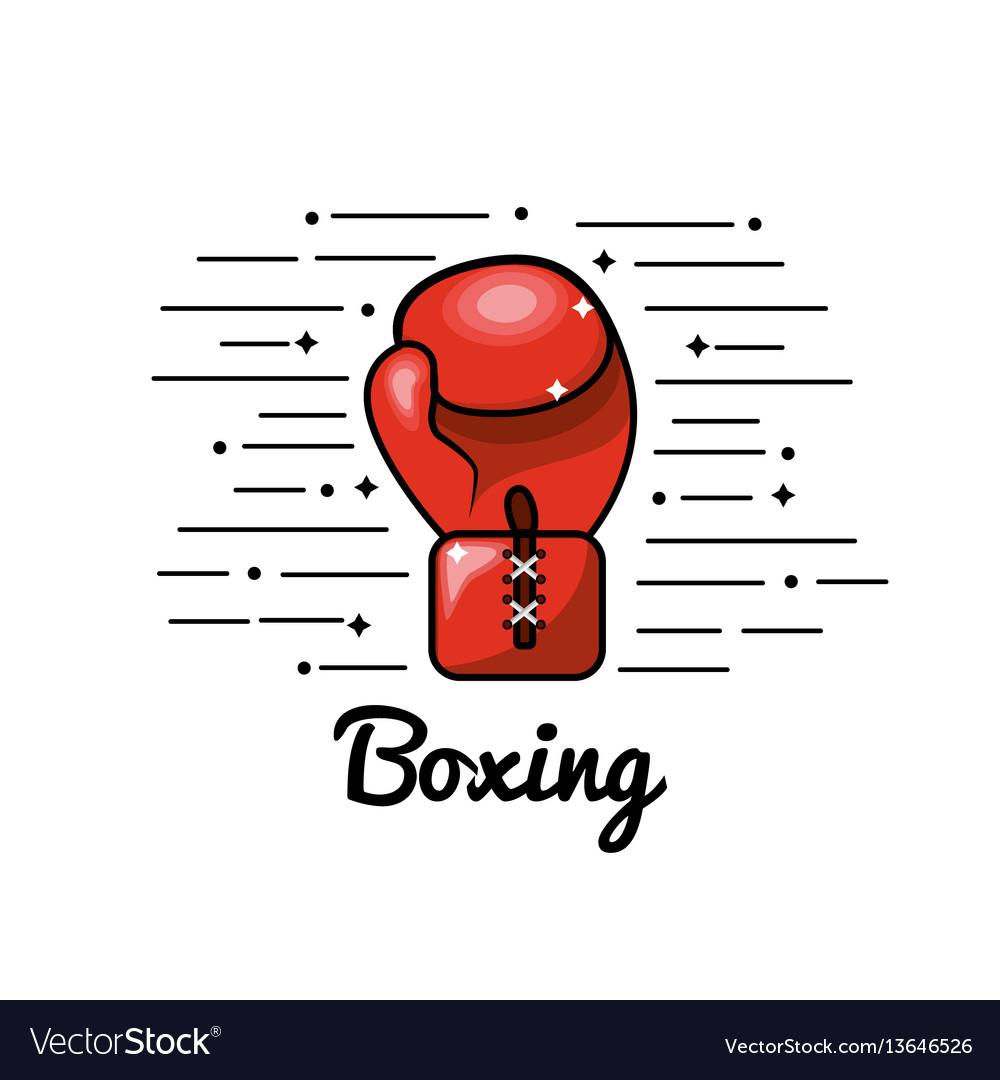 Symbol boxing play icon