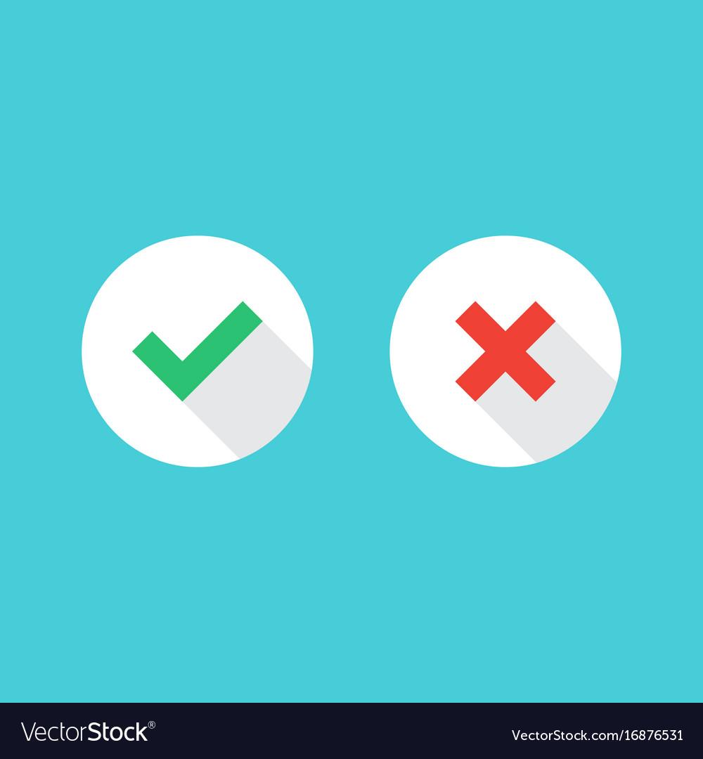 Check mark icons