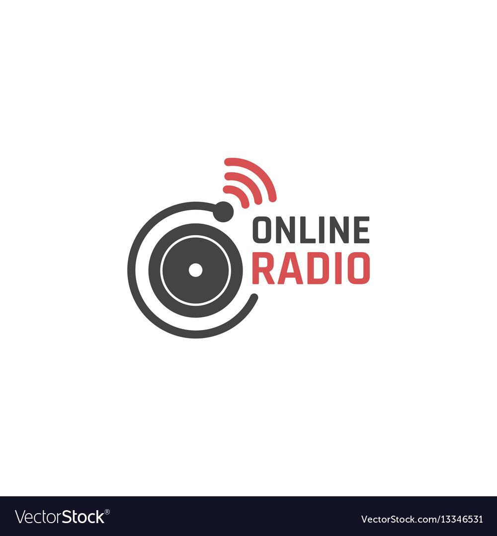 Online radio icon