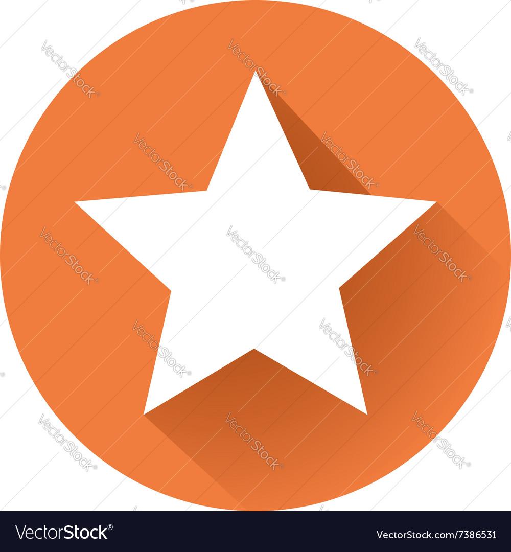 Star shape vector image