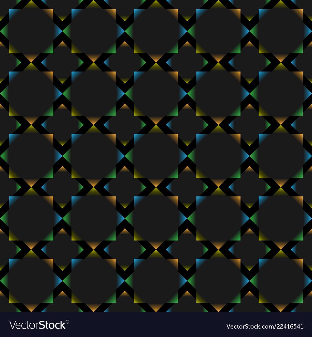Polygonal figure seamless background