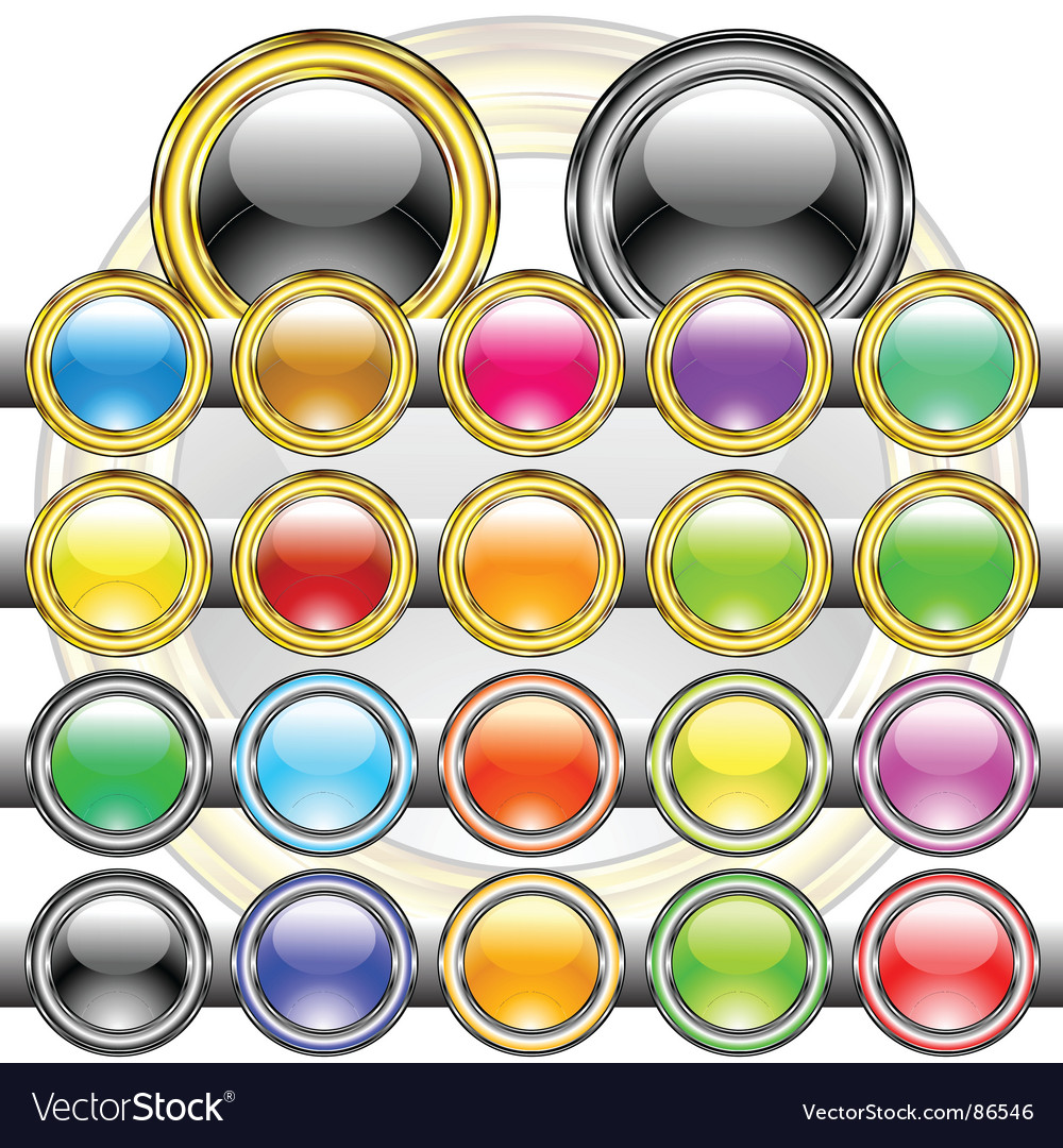 Buttons colored