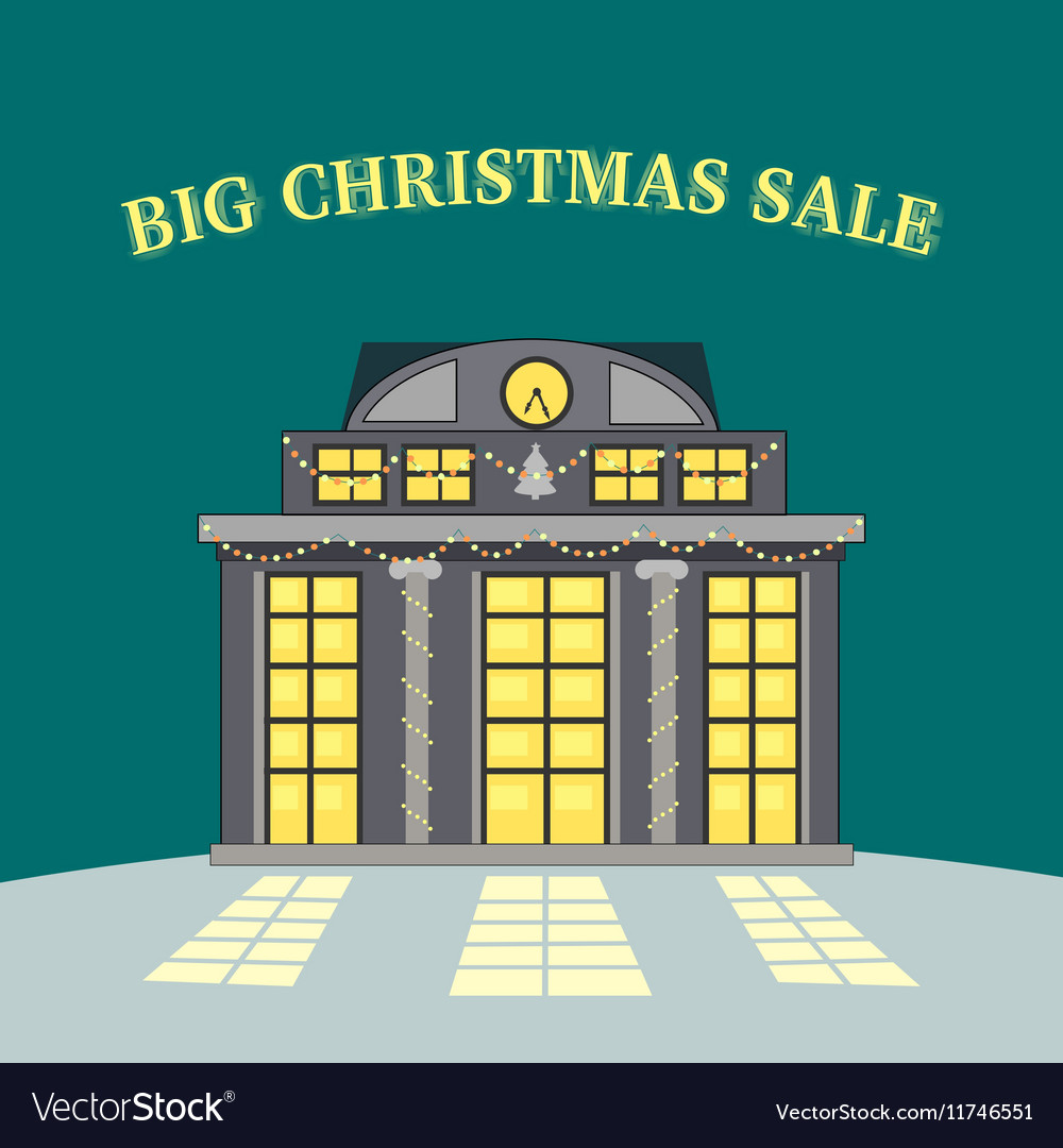 Big Christmas Sale Glowing Shop Store