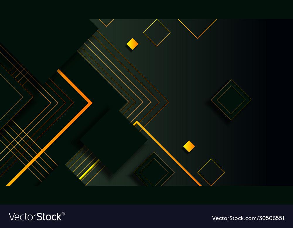 Elegant light shape dark background